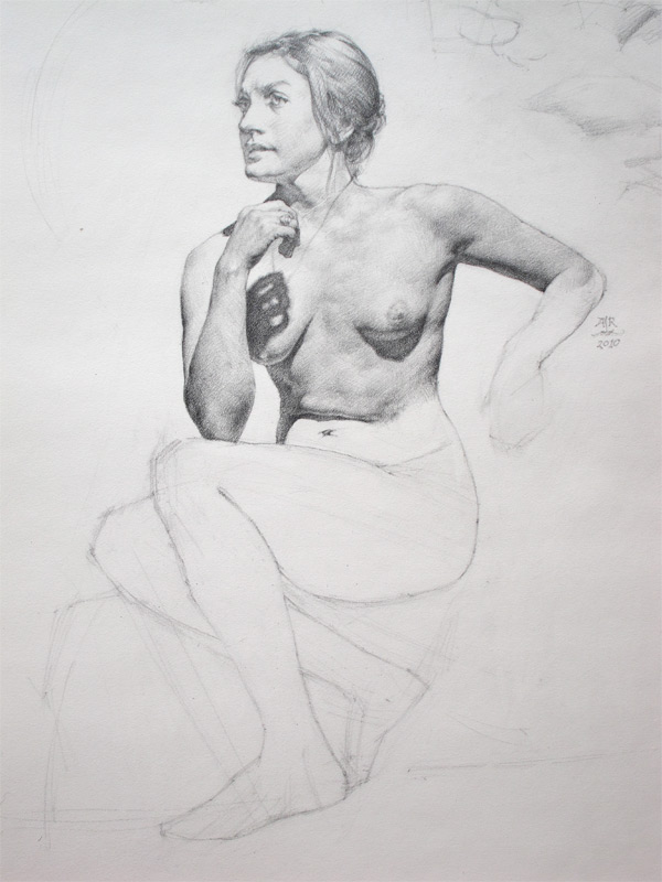 Anthony Ryder, Figure Drawings 2