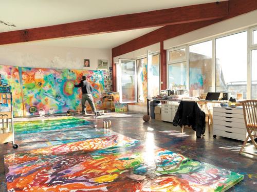 Wynwood Kitchen and Bar Murals by Christian Awe | Wynwood Walls