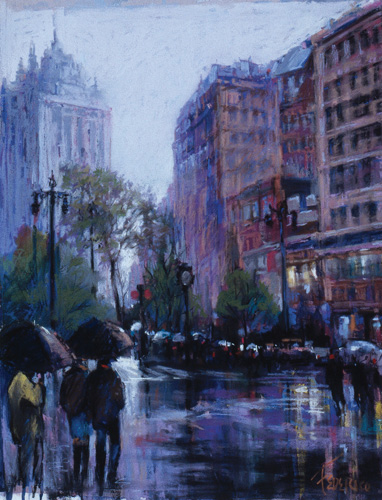 """Rainy Crossing"" by Frank Federico 