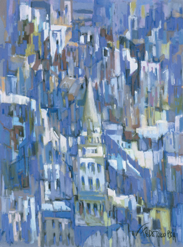 """""""Urban Rooftops"""" by Frank Federico 