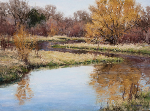 Aaron Schuerr's Completed Painting | Plein Air Painting
