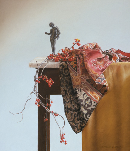 """Bittersweet with Bronze"" by Barbara Groff | Pastel Paintings"