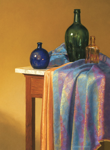 """""""Blue, Green and Gold"""" by Barbara Groff 