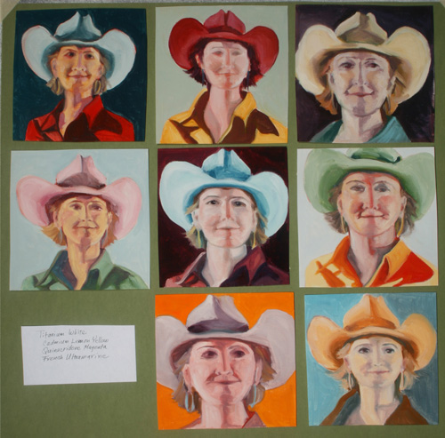 Jeannette-Nichelson-Cowgirls-with-primary-color-scheme