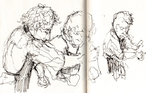 Jeff Martin's Sketch of Noma in Copenhagen | Back of House