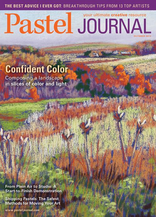 Pastel Journal, October 2012 | pastel art magazine