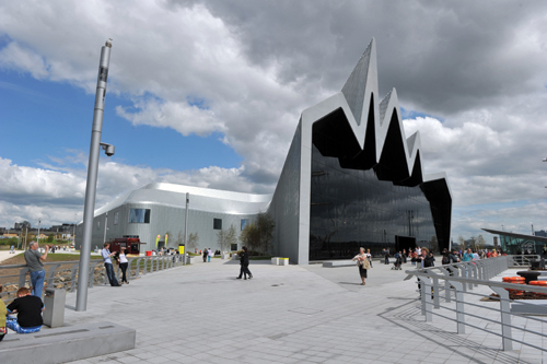 The Riverside Museum in Glasglow | Art of Construction
