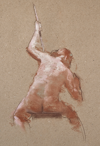 Robert Palevitz, Figural Drawing from Behind | Sketching Figures