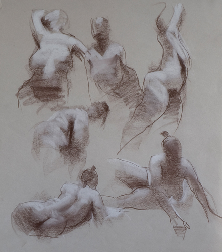 Robert Palevitz, Moving Figure | Quick Sketches