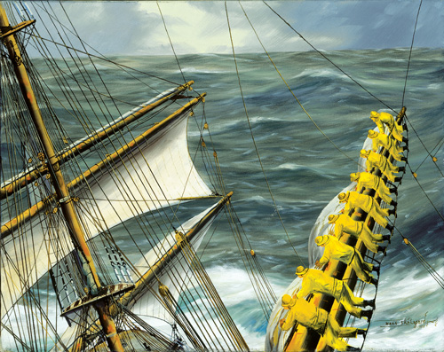 "Olivebank"" by Hans Skalagard 