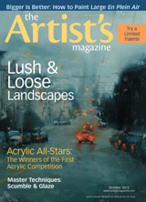 The Artist's Magazine, October 2012
