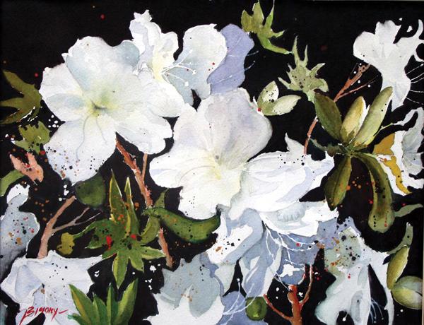 Spring Azaleas by Ron Bigony