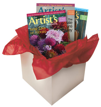 Subscribe to The Artists Magazine, gifts for artists