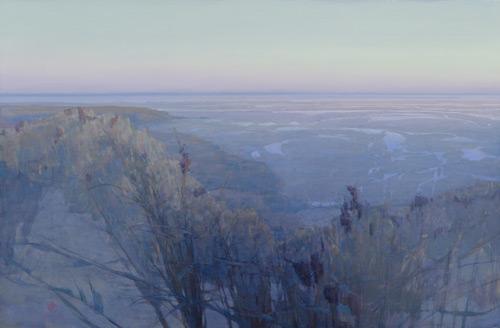 Brett Allen Johnson, landscape painting