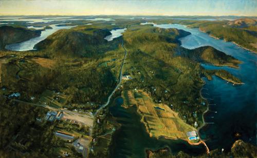 Alexandra Tyng, oil landscape painting