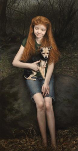 Candice Bohannon portrait painting