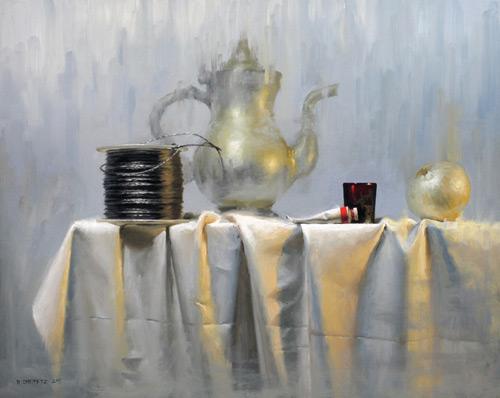 David Cheifetz still life painting