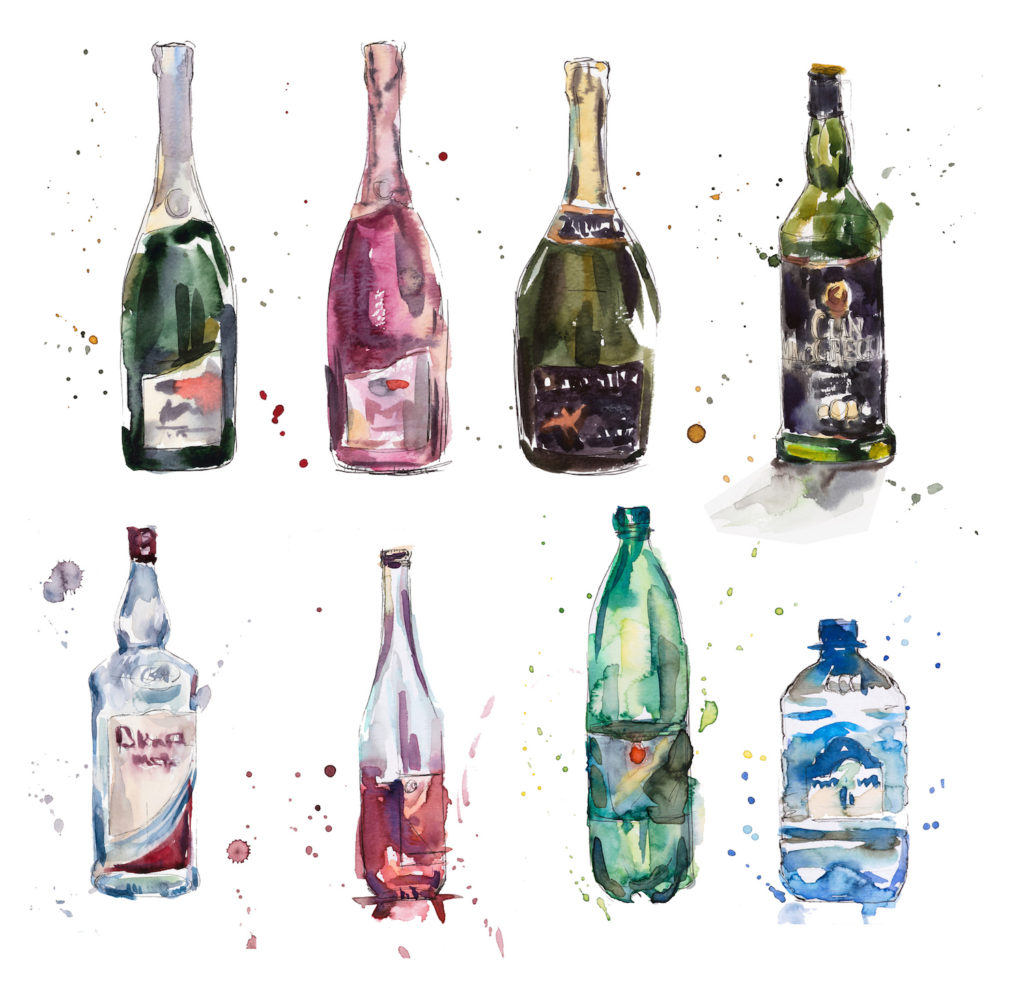 Alcohol in Watercolor | Artists Network | Photo by Getty Images