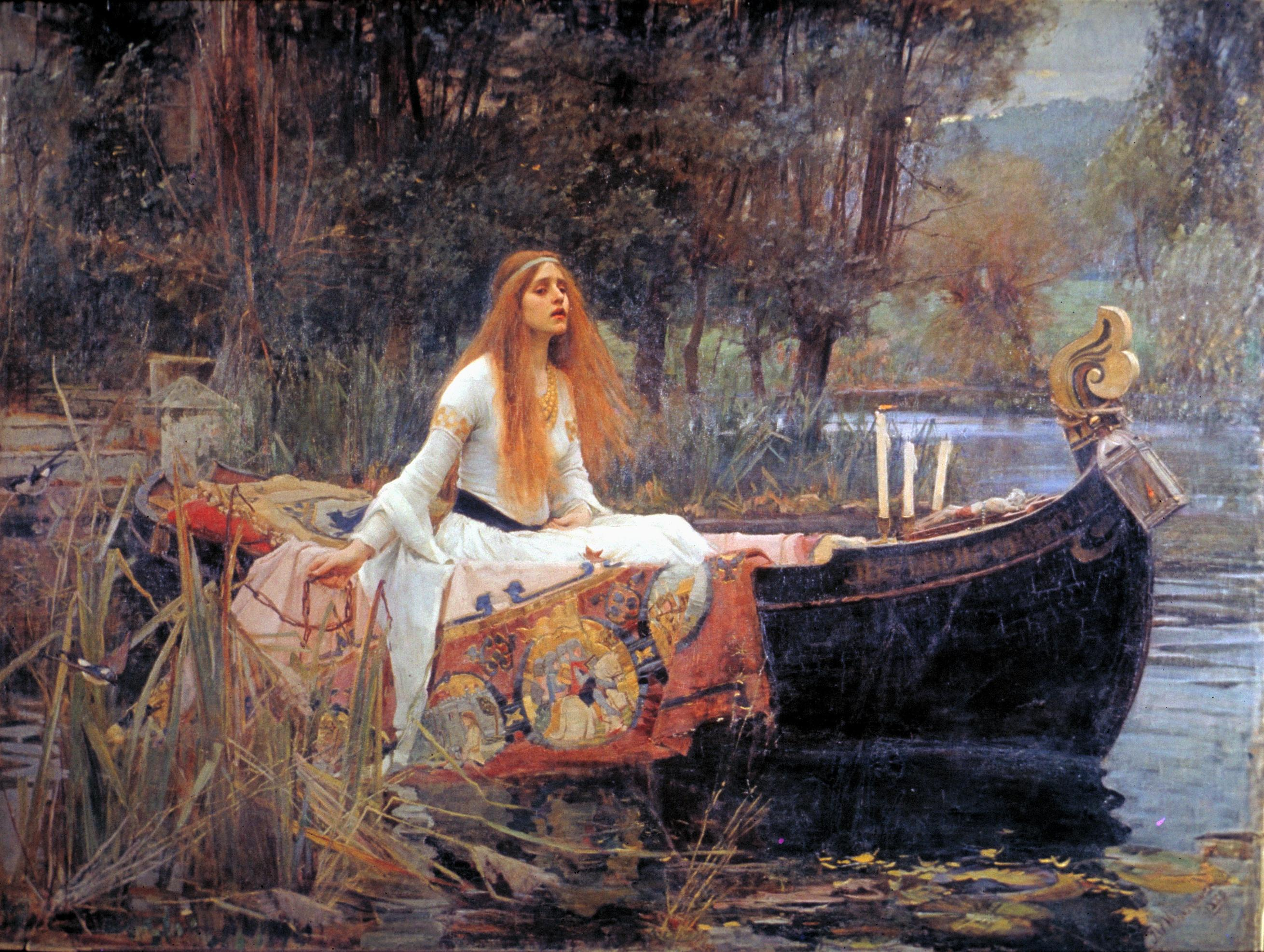 Art history: The Lady of Shalott by John William Waterhouse
