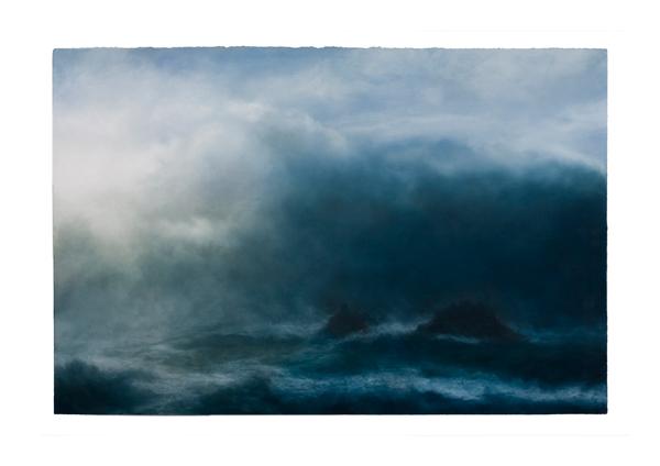 Surge by Matthew Draper | pastel landscapes
