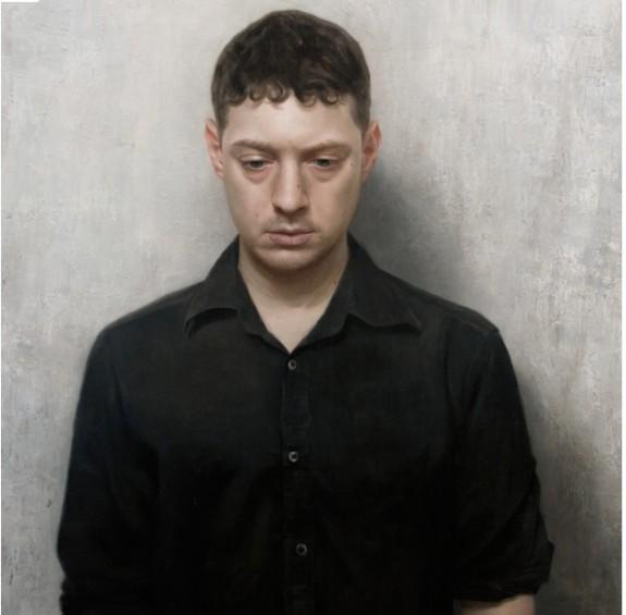 David Jon Kassan's self portrait painting
