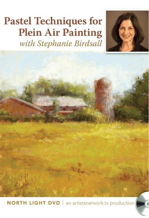 pastel painting en plein air with stephanie birdsall