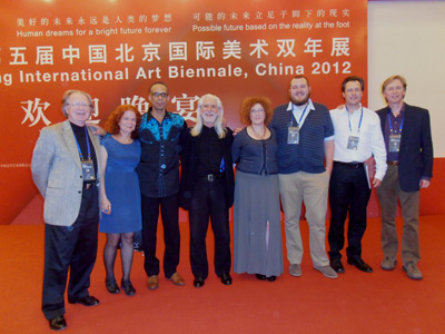US artists at Beijing Art Biennale