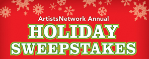 ArtistsNetwork Holiday Sweepstakes | art tools giveaway