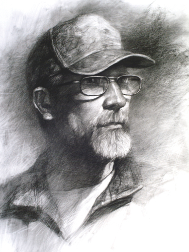 Hunter Jeff (pastel) by Z.L. Feng | pastel portraits