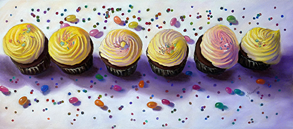 cupcakes-and-jelly-beans by Karen Howard