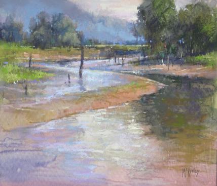 richard mckinley plein air pastel