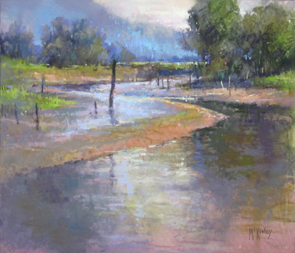 richard mckinley plein air pastel
