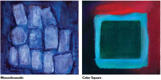 Choose Colors That Form A Square On The Color Wheel To Make Squared Painting