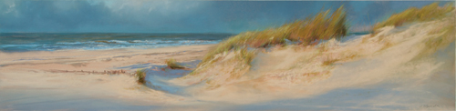 Pastel 100 Bronze Award: Astrid Volquardsen's A View to the Sea