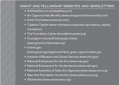 Grant and Fellowship Websites and Newsletters