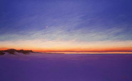 pastel landscape | pastel painting
