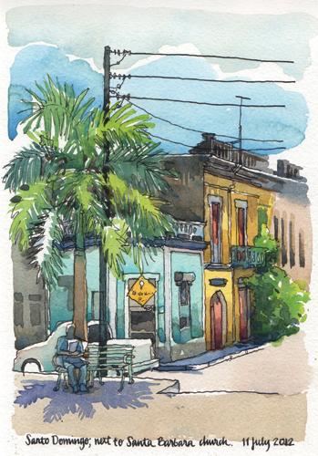 Dominican Near Santa Barbara by Nina Johannson