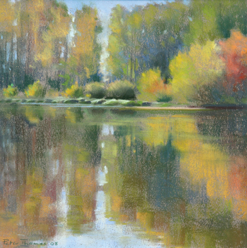 Dordogne River Bank, Autumn