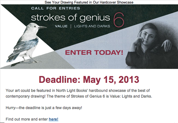 Call for Entries_fine art contest