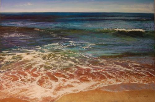 Aftermath (pastel) by Jeanne Rosier Smith