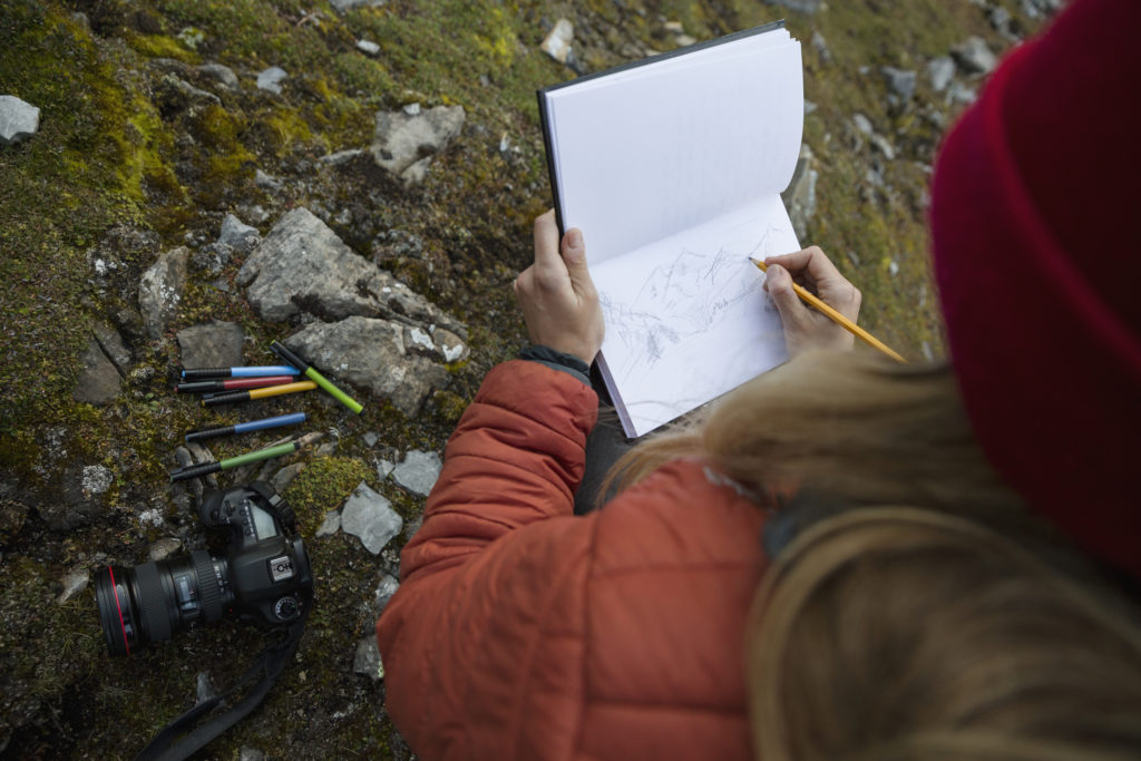 Drawing is a skill that improves with practice. Be an active participant by taking a sketch pad and pencil with you when you go out to enjoy nature, and consider using a digital camera to collect your own reference photos. (Getty Images)