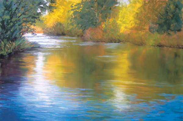 Still Waters (pastel, 11x17) by Maggie Price