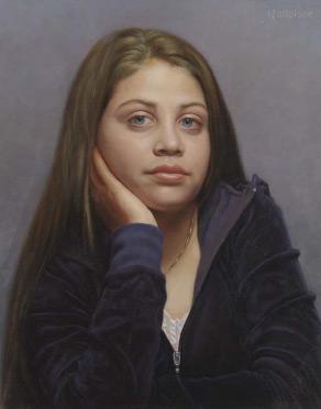 Sydney, female portrait by Marvin Mattelson