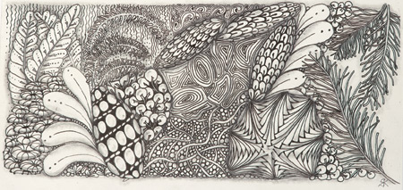 Woven-Wonder-Tile_Zentangle art