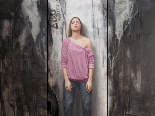 Balance (oil,60x80) by David Jon Kassan