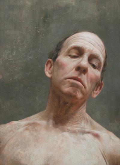 Head Study (oil, 18x14) by David Jon Kassan