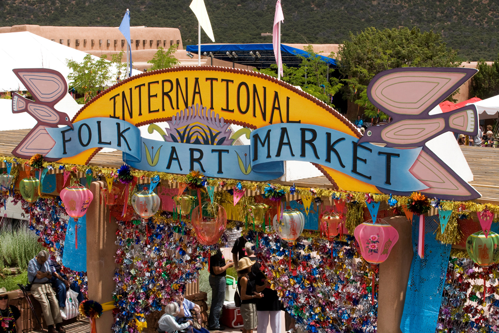 At the 2008 Santa Fe International Folk Art Market © a Polished Eye.  All rights reserved.