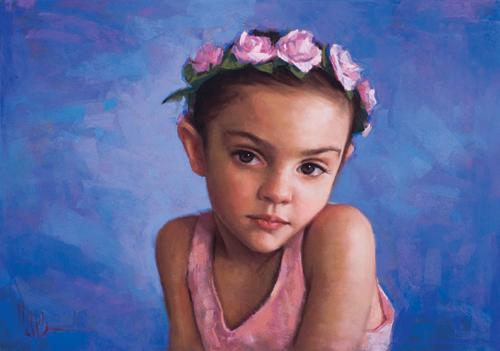 ballerina | pastel portraits