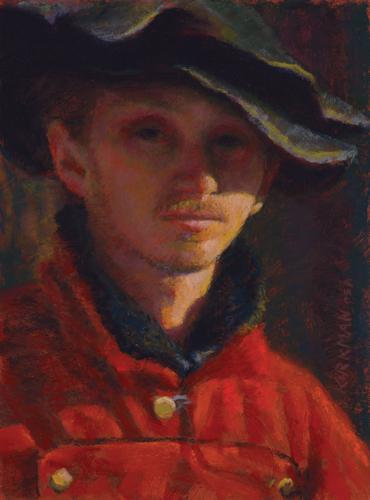 pastel portrait final painting | how to paint a portrait