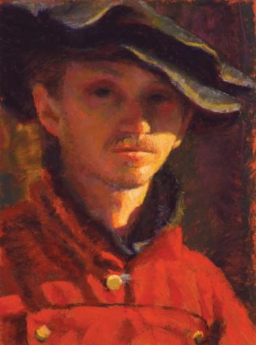 pastel portrait step 9 | how to paint a portrait